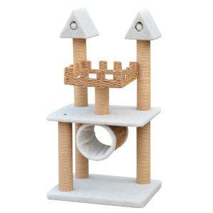 Pet Pals Cat Castle W/Tunnel PP1599   PetSmart #cat Tree #$94.99.