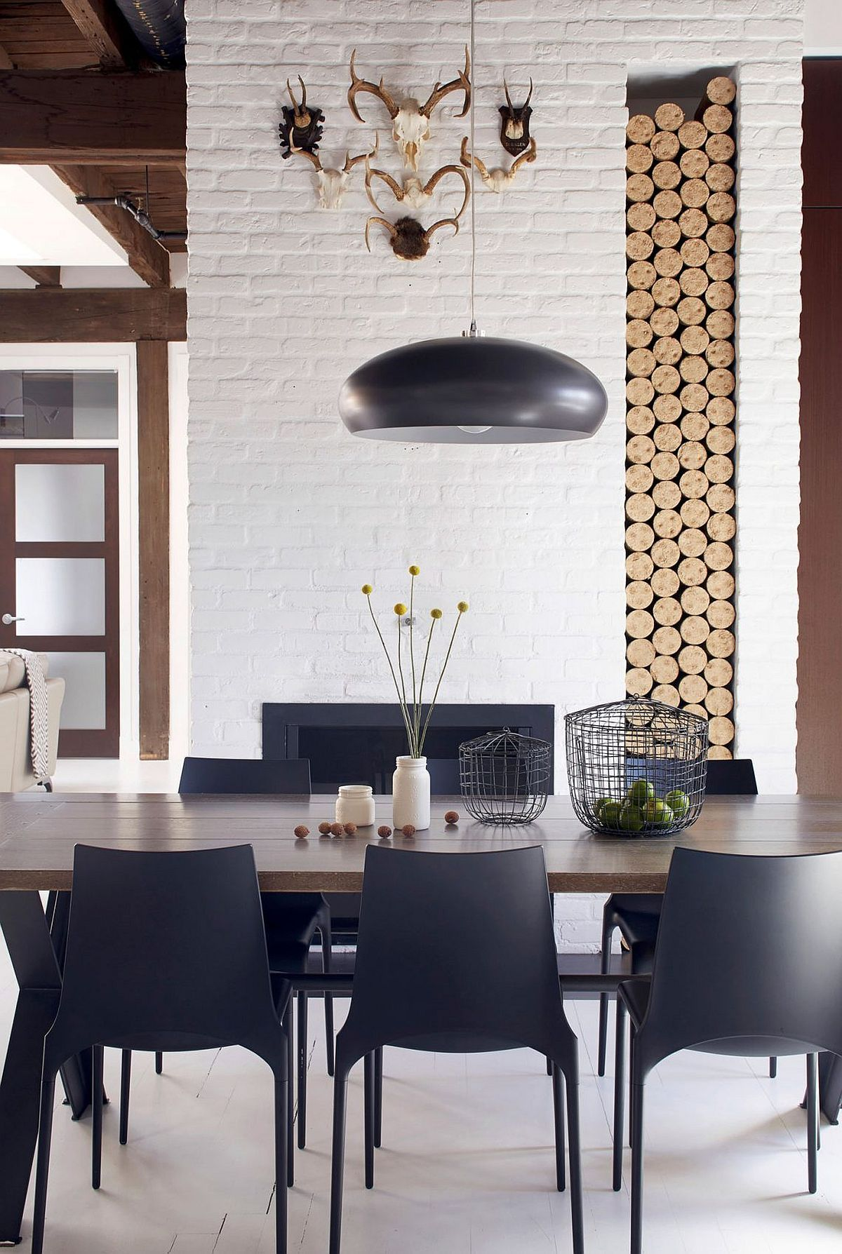 Old Fire Station Turned into Dashing Modern Industrial Loft in ...