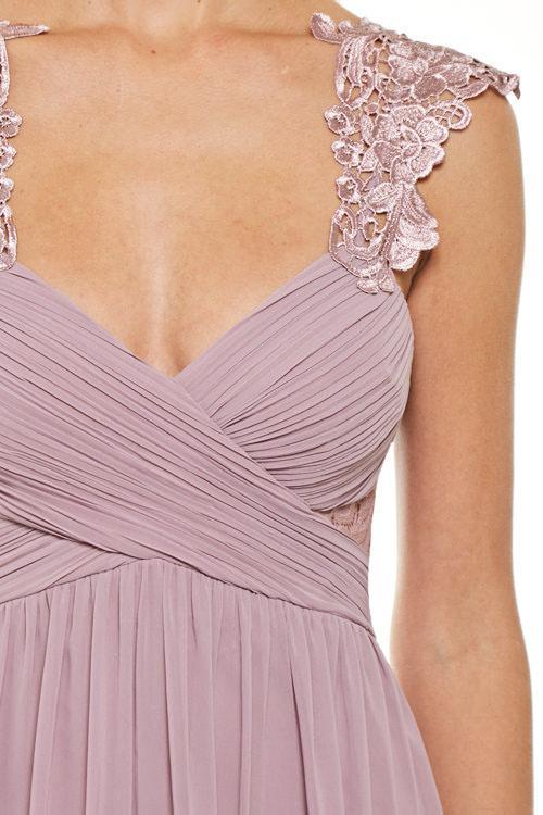Medusa Empire Waist Chiffon Floor Length Evening Gown Bridesmaid Dress – Frugal  Mughal 568ae9e54