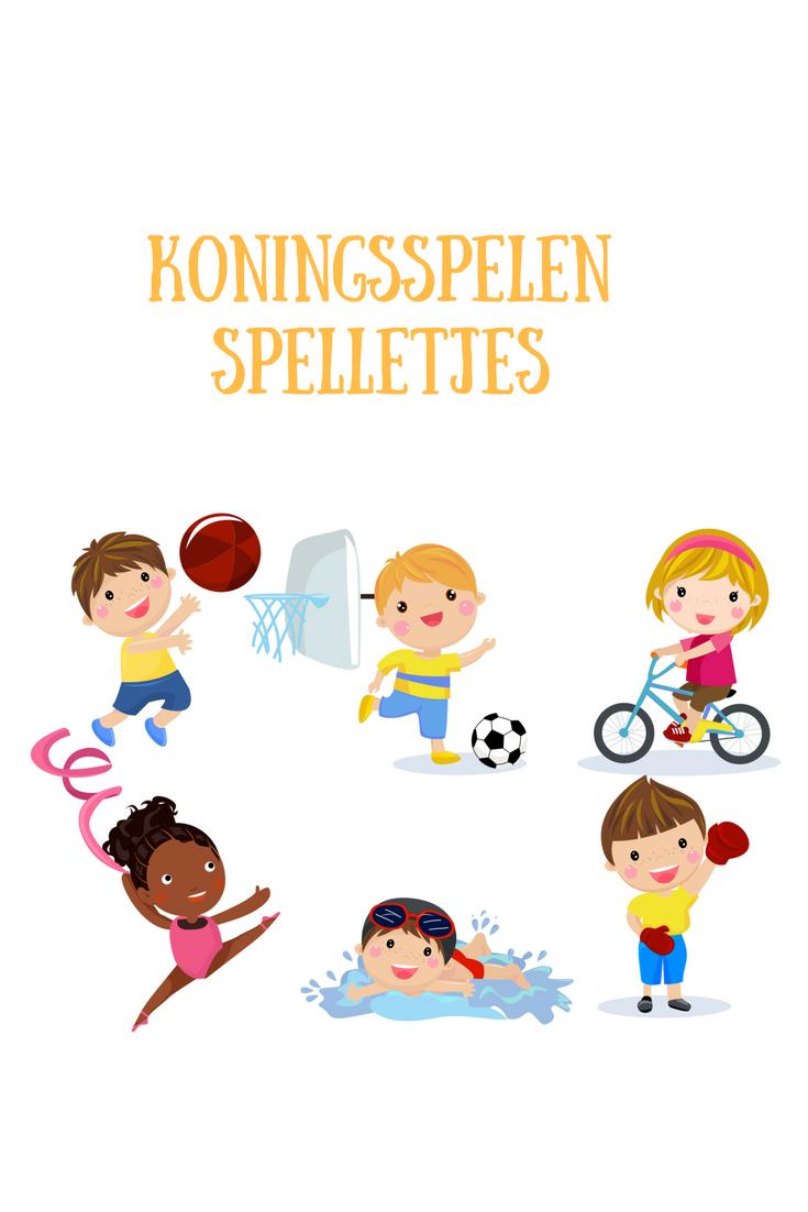 Voorkeur Koningsspelen spellen | School koningsdag/sportdag/Nederland #AR48