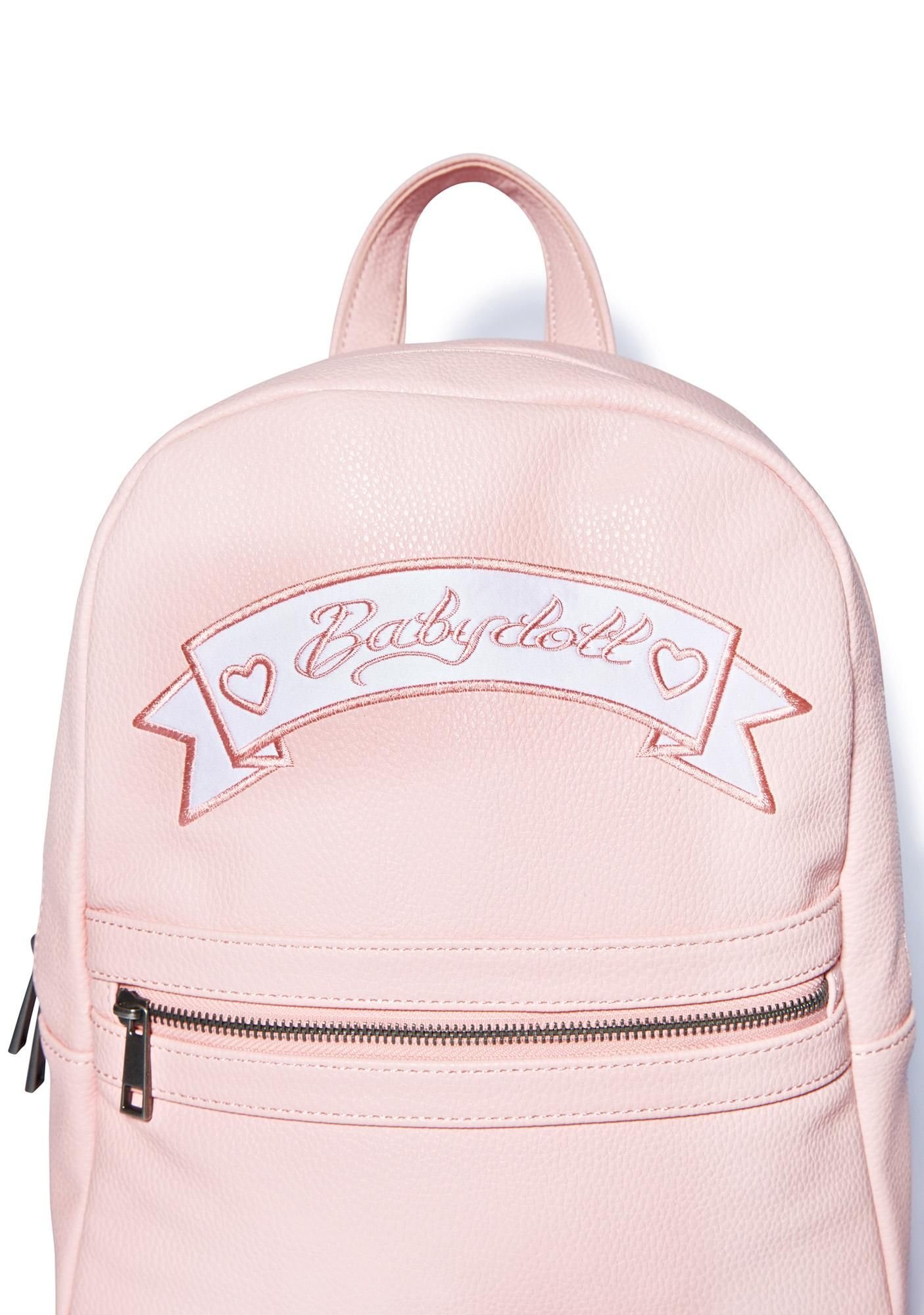 717de8ae3610 Sugarbaby Babydoll Mini Backpack Faux Leather Backpack