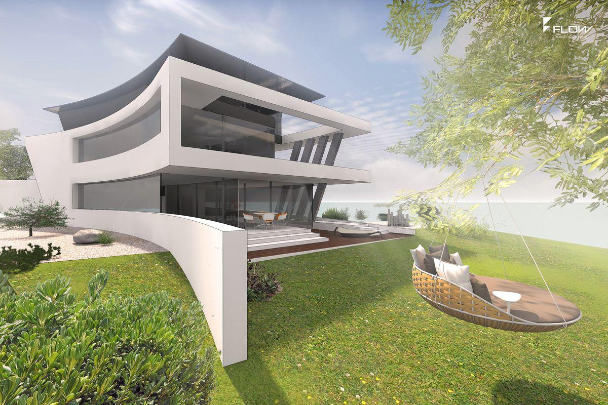 Architektenvilla am See Berlin | Architektur | Pinterest | Entwurf ...
