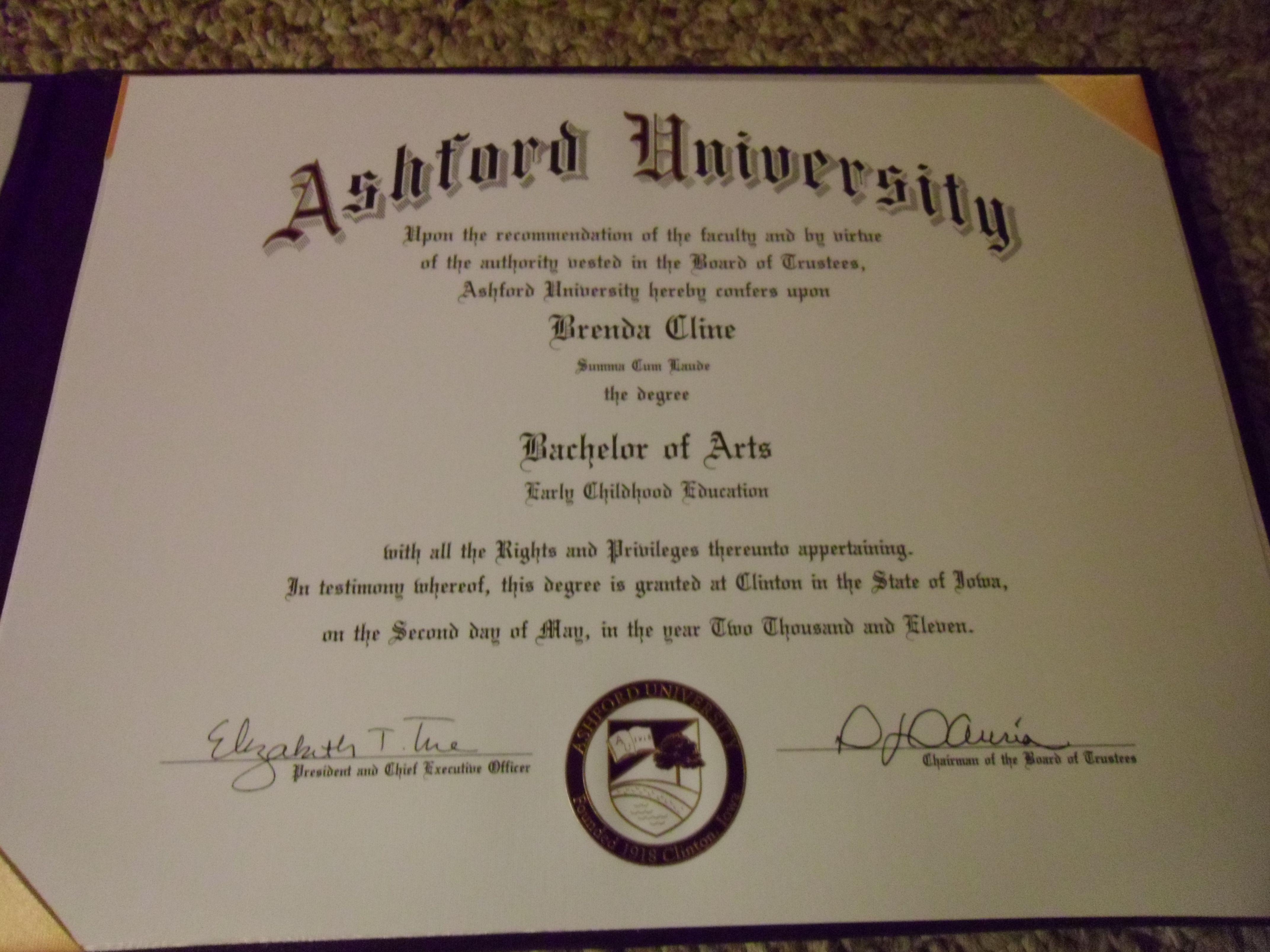bachelor s degree from ashford university my life pinterest