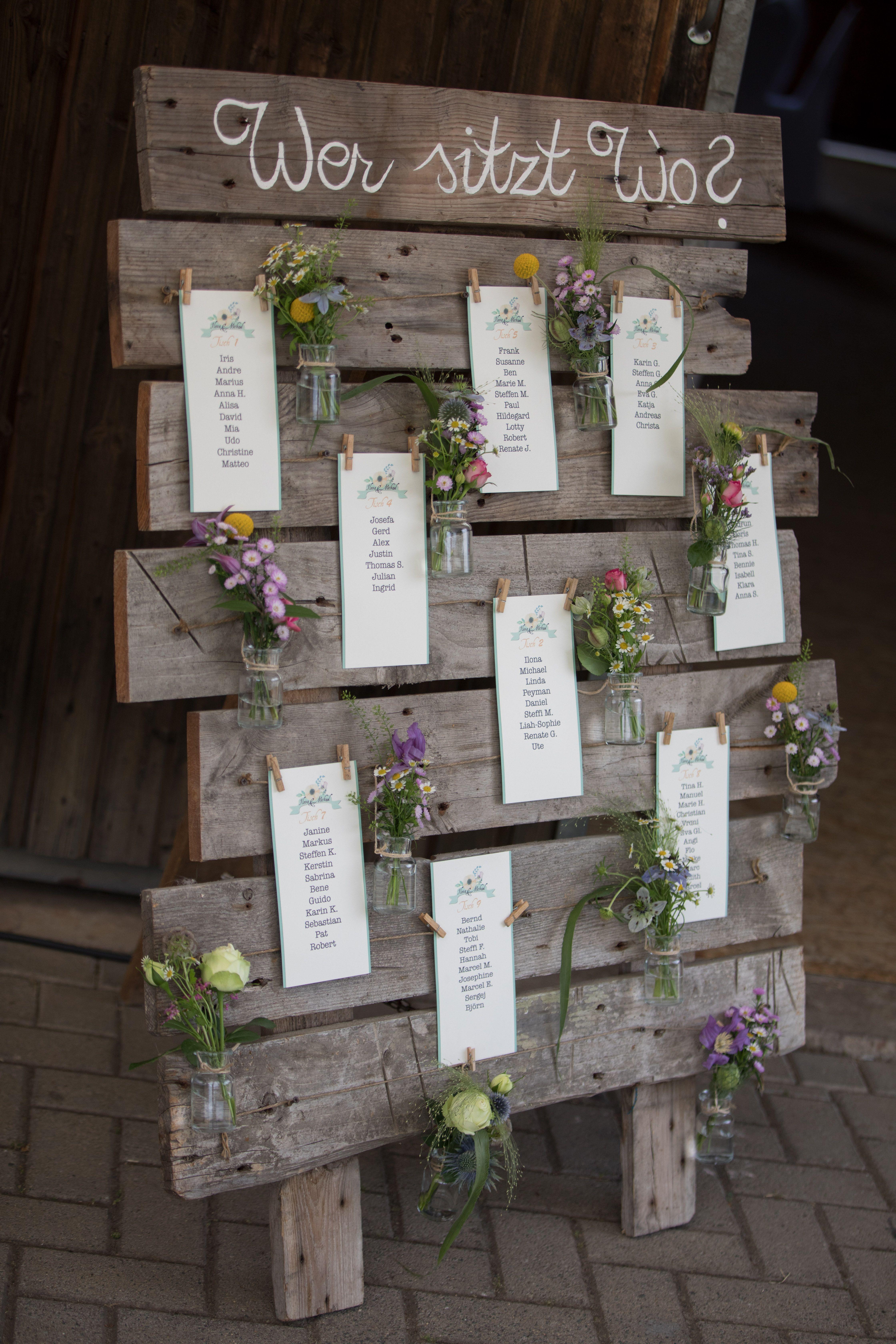 Sitzplan Seating Plan Palette Diy Selbstgemacht Blumen Flowers Idea Idee Inspiration Hochzeit Tischplan Sitzplan Hochzeit Hochzeit Sitzplan Ideen