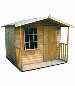 9 pane ship lap hobby house garden shed
