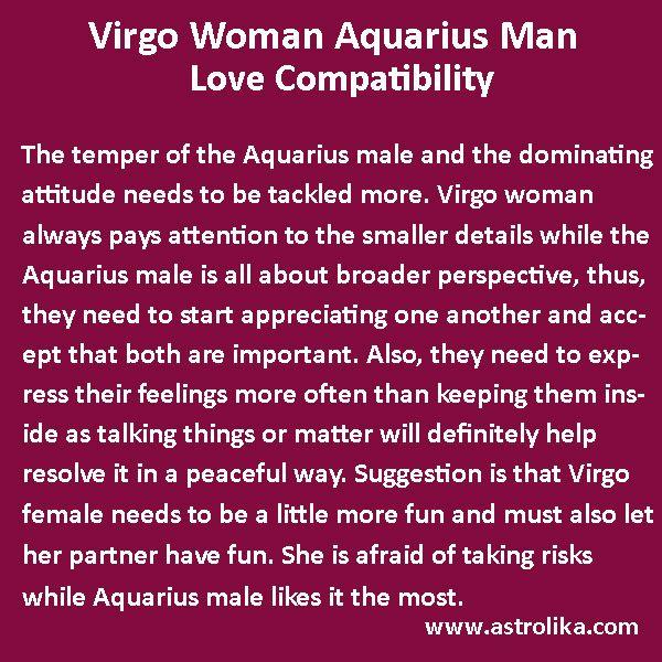 Virgo Woman and Aquarius Man Love Compatibility | Aquarius