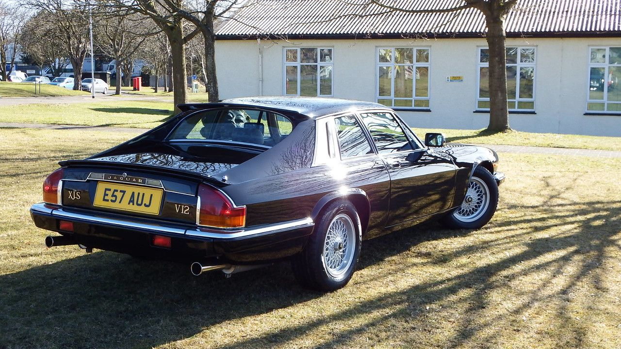 This is a Guy Salmon Jubilee XJS V12 coupé. KWE believes it is ...