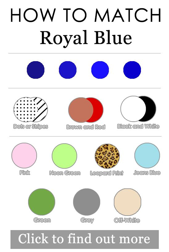 Take A Look At Royal Blue Outfits Ideas You Should Try Too In The Photos Below And Get For Your Own Black White With Pops Of