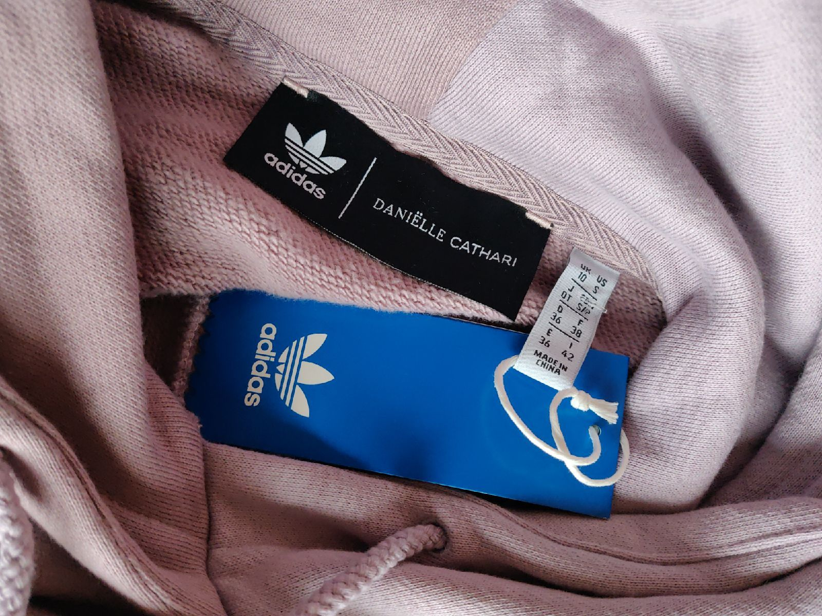 Adidas x Danielle Cathari Hoodie M Purpl | Mercari in 2020