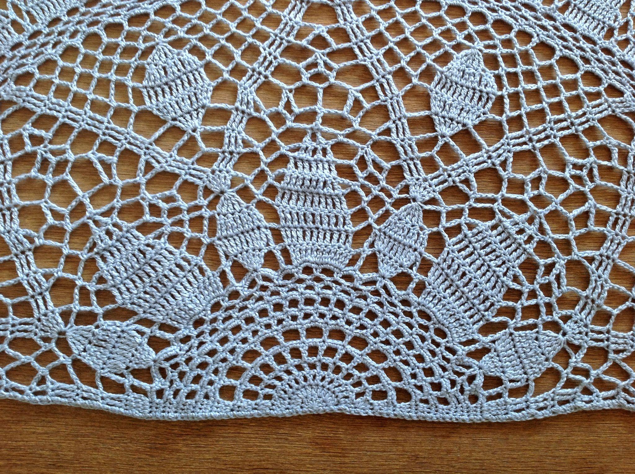 Suvi\'s Crochet: Art Deco Sunburst Shawl | Crochet: puntos, técnicas ...