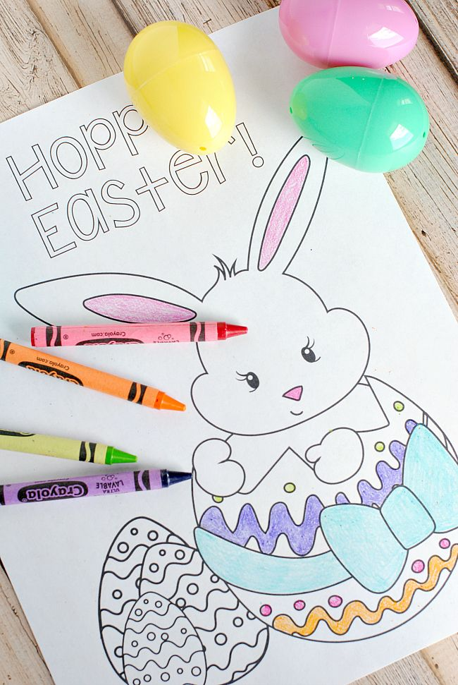 Easter Coloring Pages For Kids Le Little Tots Colouring And