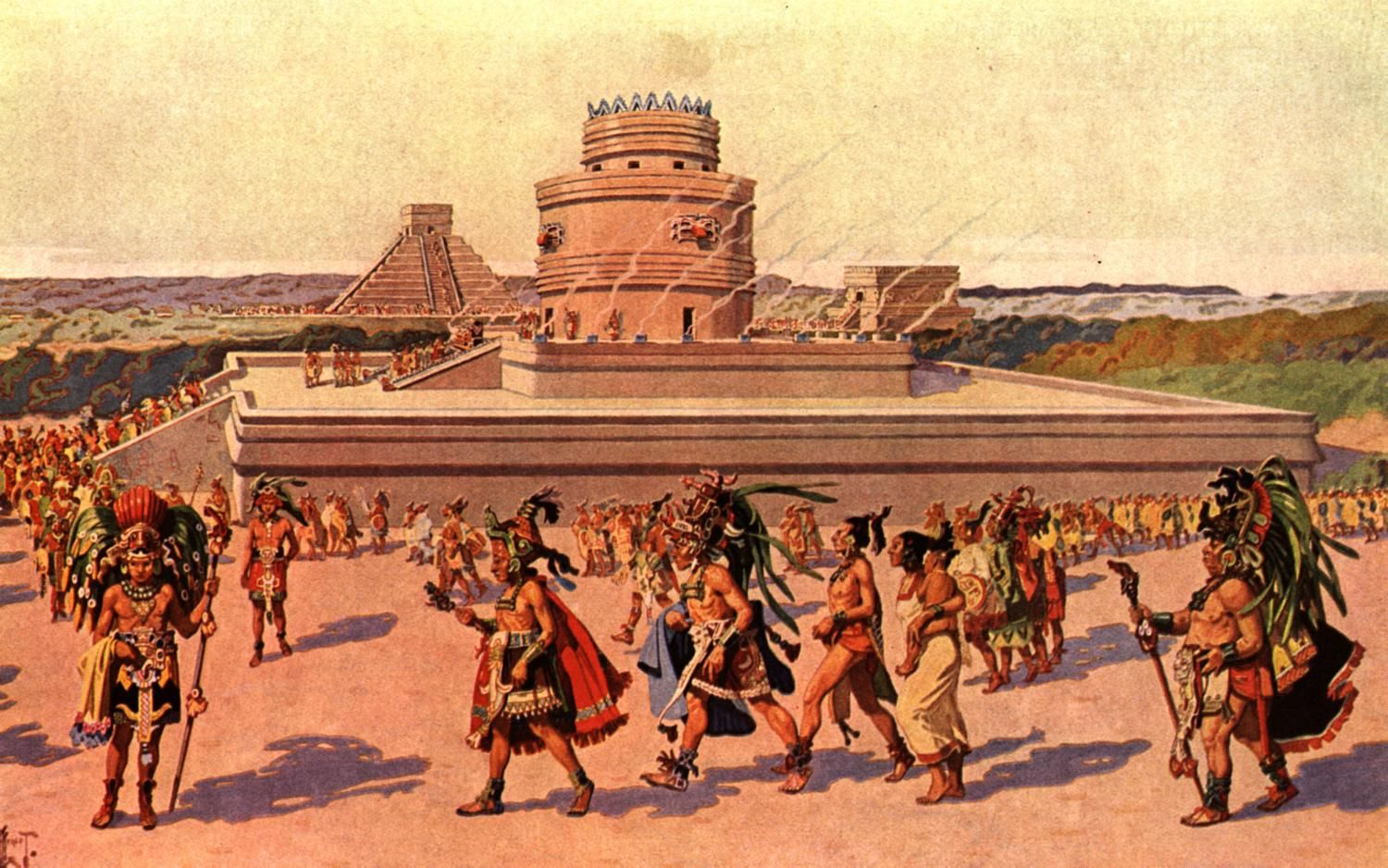The Mayans religion involved several aspects of nature, astronomy ...