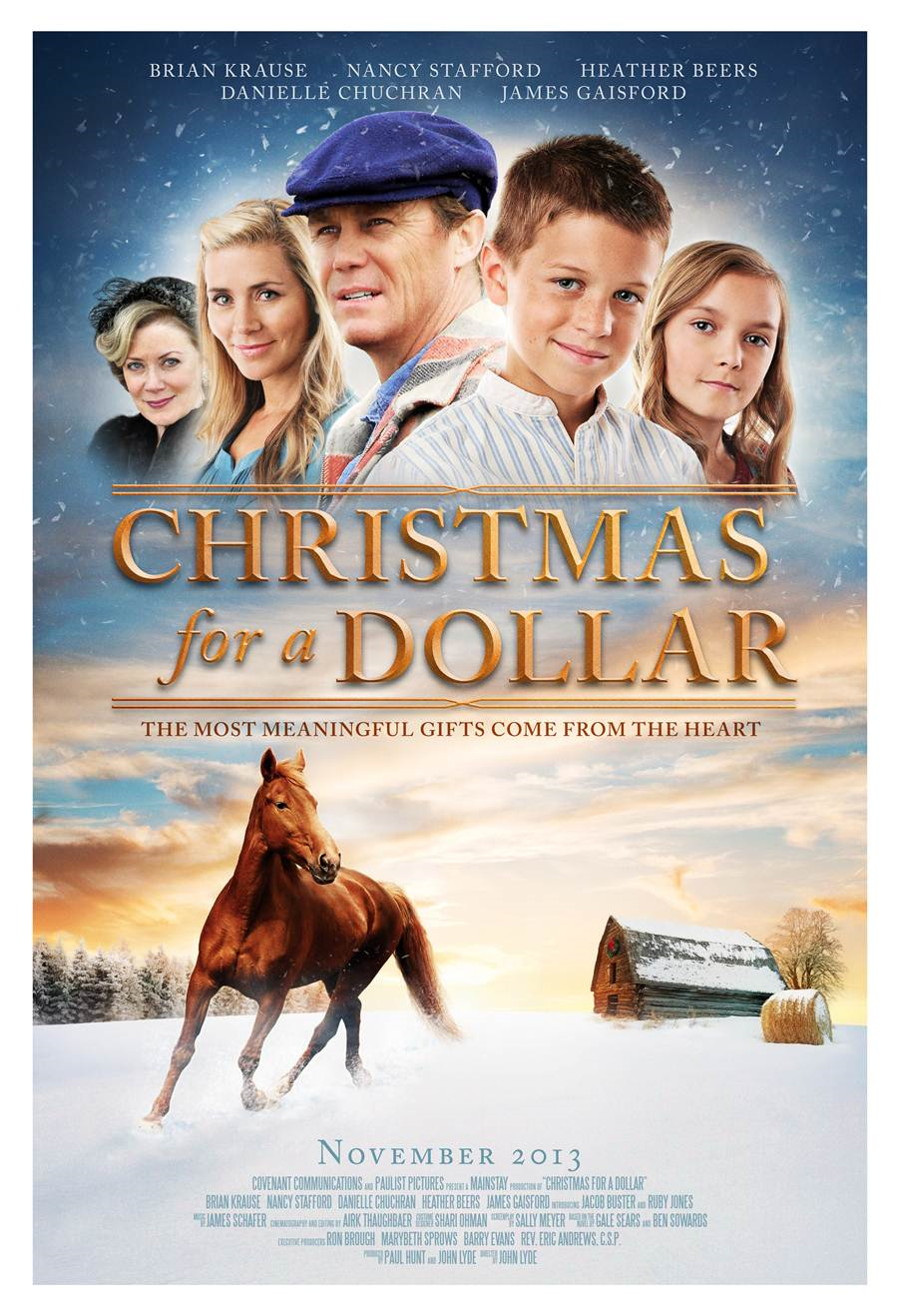 Christmas for a Dollar Christian Movie Film on DVD