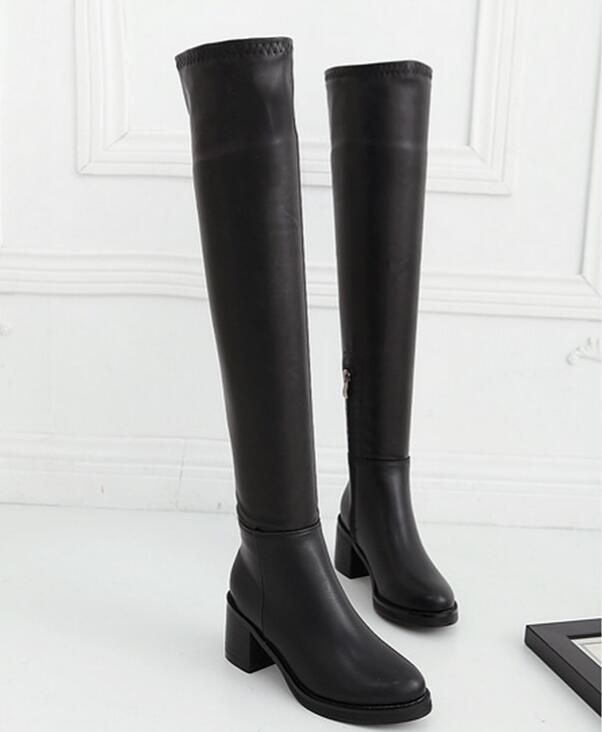 Find More Women's Boots Information about Europe and the United States knee high boots,High Quality boots oxford,China boot factory Suppliers, Cheap state street boots from GengNan store on Aliexpress.com
