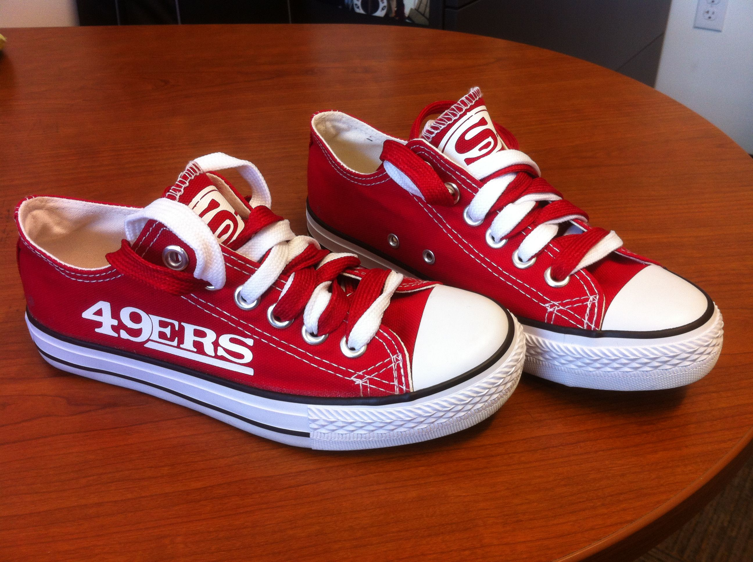 d498e2e6 The best SF 49er shoes ever! | My Style | 49er shoes, Shoes, Shoes heels