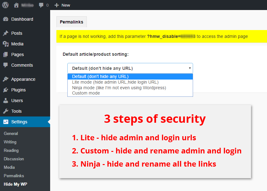 Hide My Wp It S A Wordpress Security Plugin You Can Change And