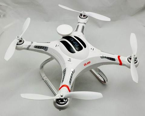 Looking for a cheaper alternative to the DJI Phanton FC40 Quadcopter?