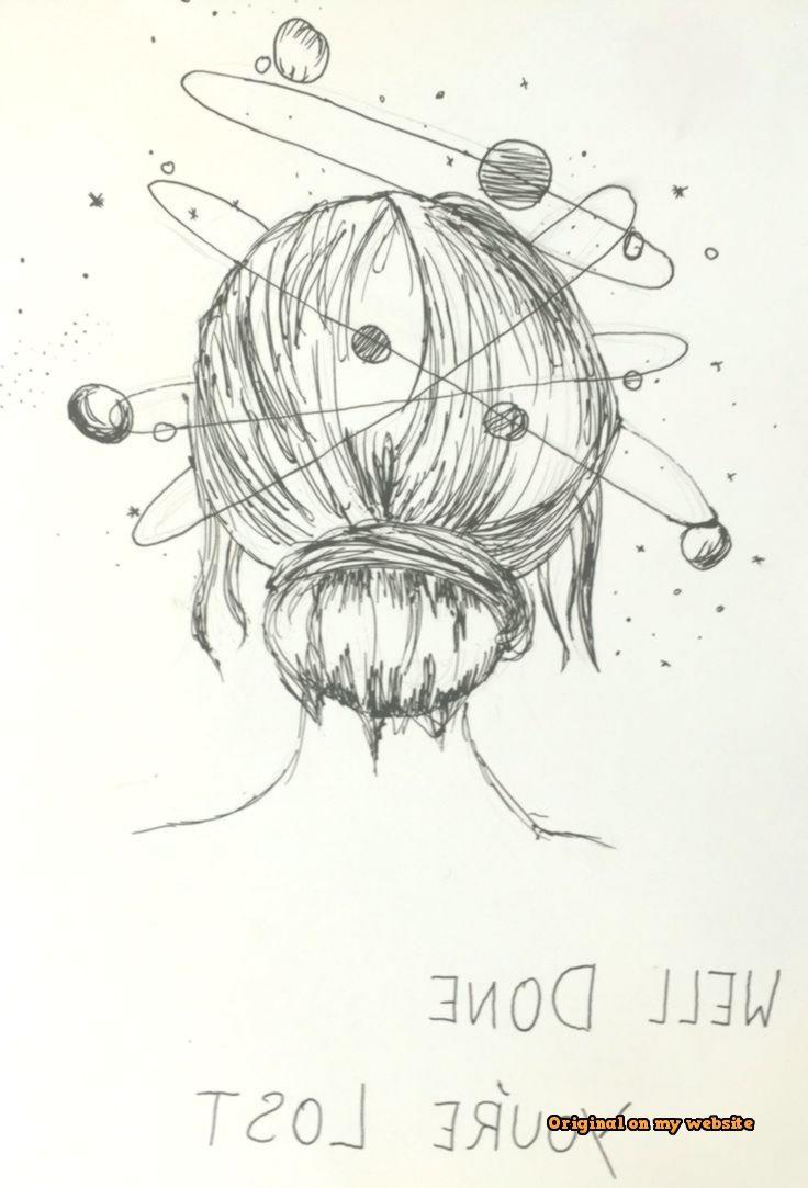 Art Sketches Tumblr - Klicke um das Bild zu sehen. Well Done, you're lost - #lost #Youre #Kunstskizzen #skizzenbuch #artsketcheseasystepbystep #artsketchespencil #skizzenkunstlk