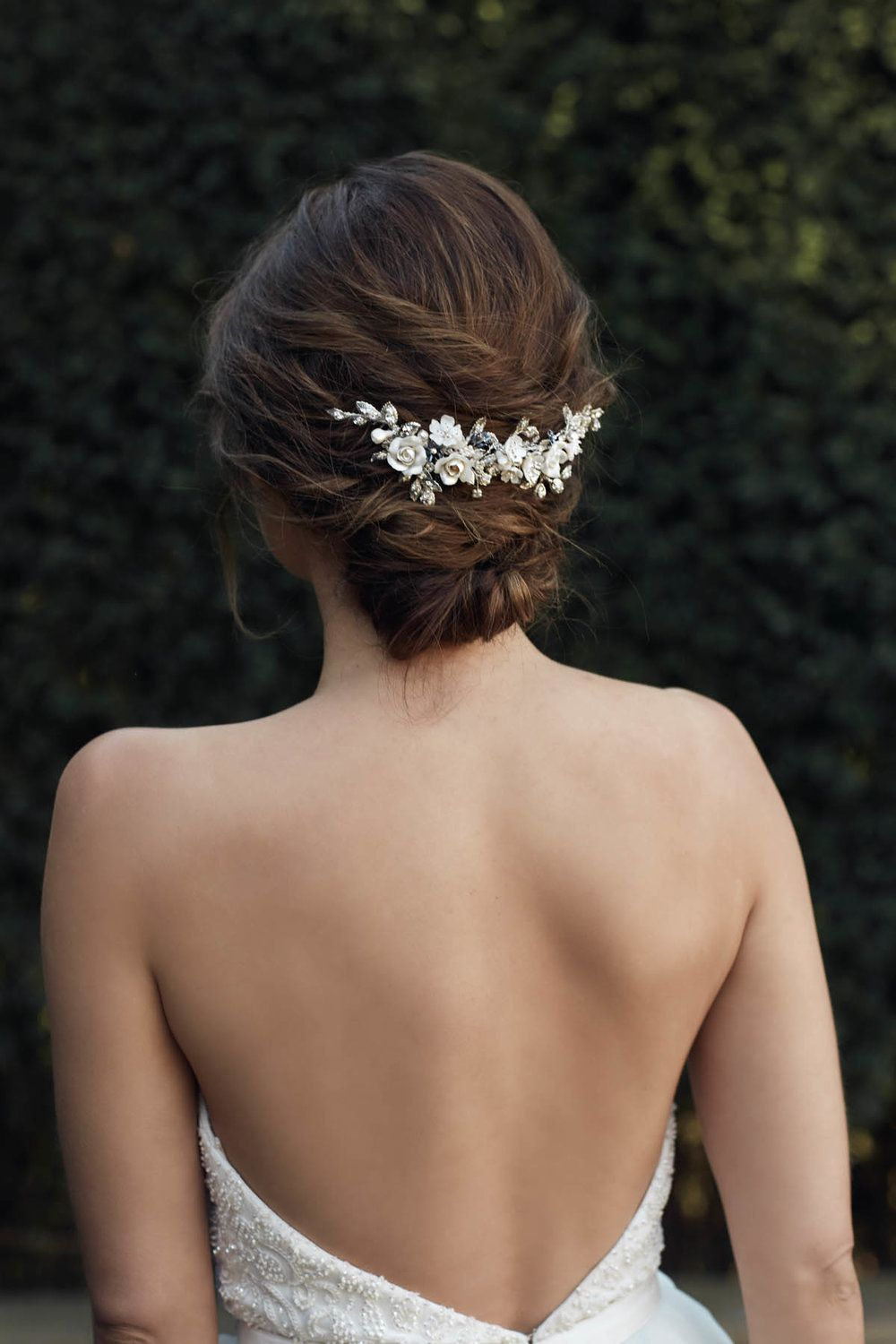 tania maras bridal accessories collection | hair style