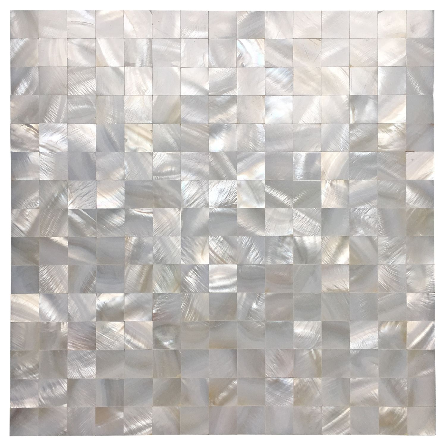 Art3d Square White With Seams 12 In X 12 In Mother Of Peral Tile 6 Pack Walmart Com In 2020 Shell Mosaic Tile Pearl Tile Mosaic Tile Backsplash