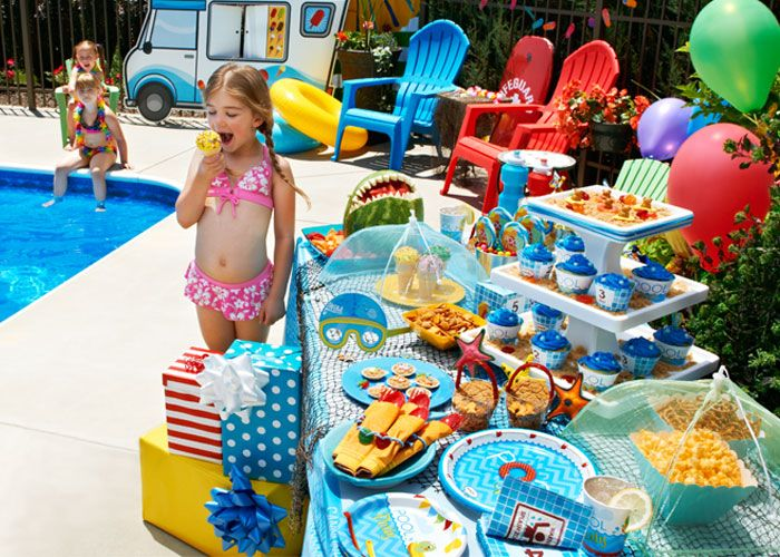 birthday party ideas pool party birthday parties