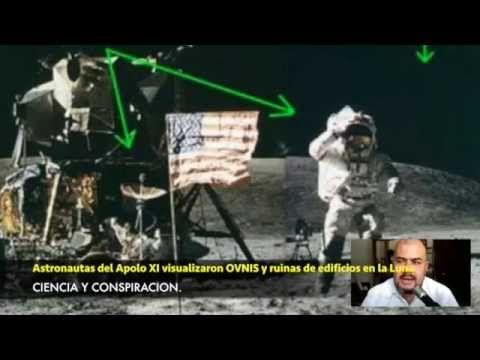 ASTRONAUTAS ENCONTRARON OVNIS Y RUINAS EN LA LUNA - YouTube