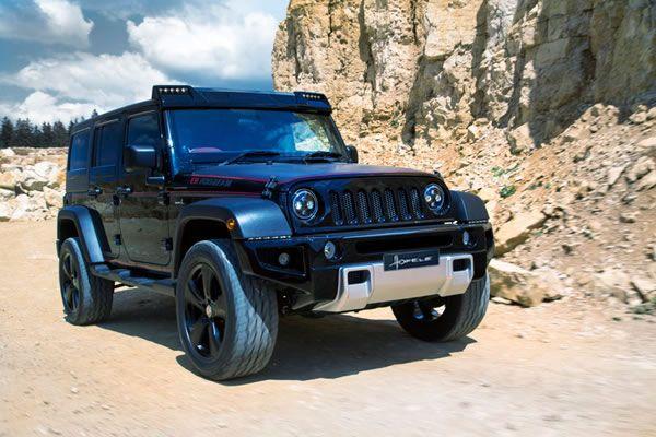 Our Hofele Design Version Of The Jeep Wrangler Fahrzeuge