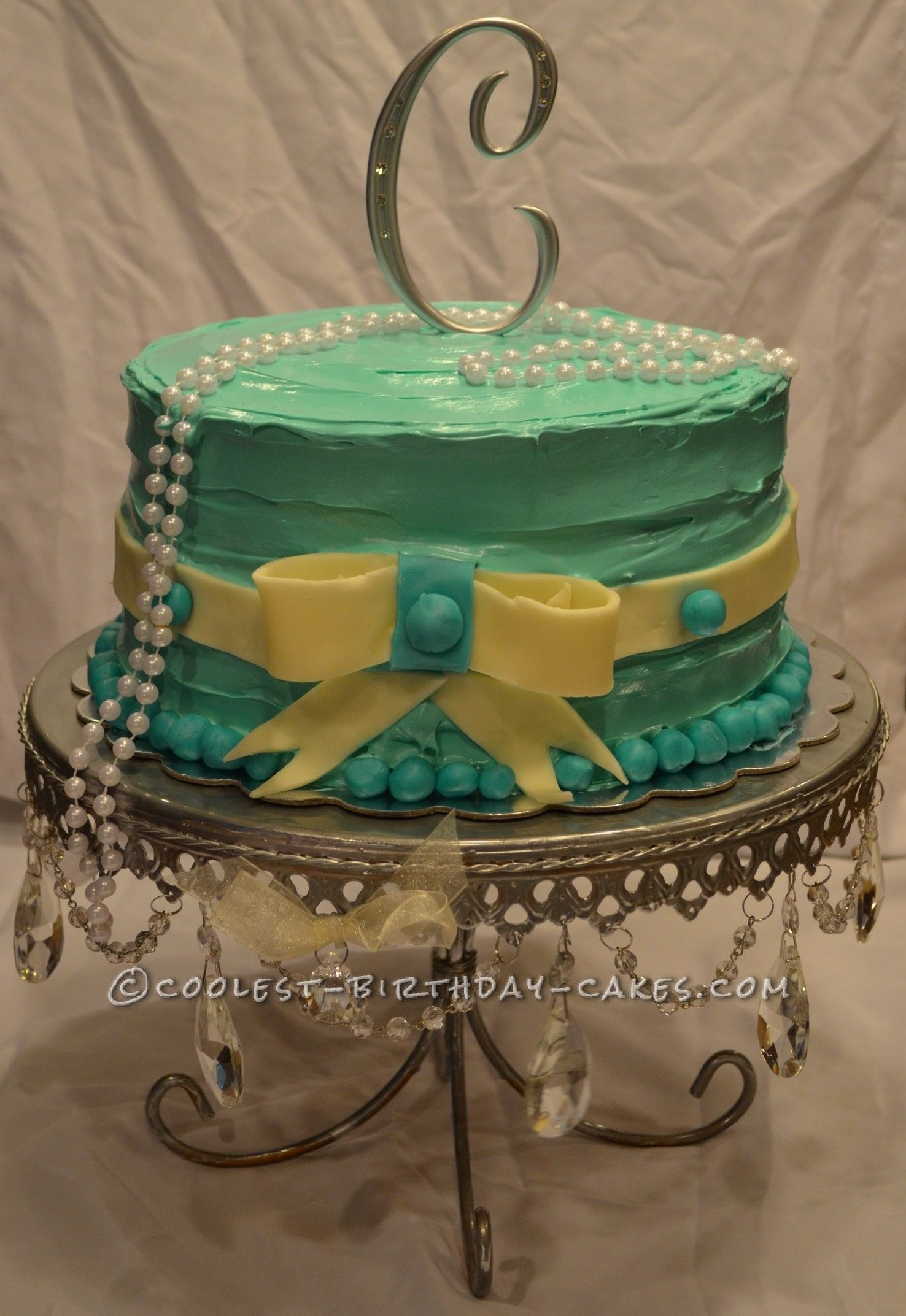 Coolest 13th Birthday Tiffany And Co Inspired Cake