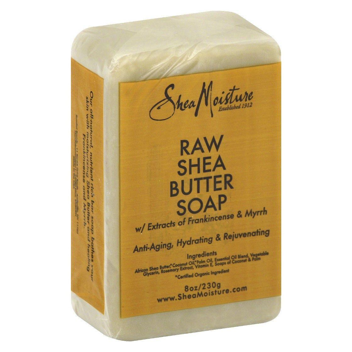 SheaMoisture Raw Shea Butter Anti-Aging Face and Body Bar ...