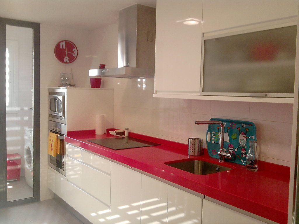 Fotos de cocinas blancas pg 54 Decorar tu casa es facilisimo