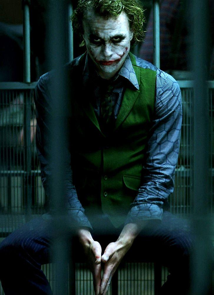 Joker Heath Ledger Batman The Dark Knight Batman El