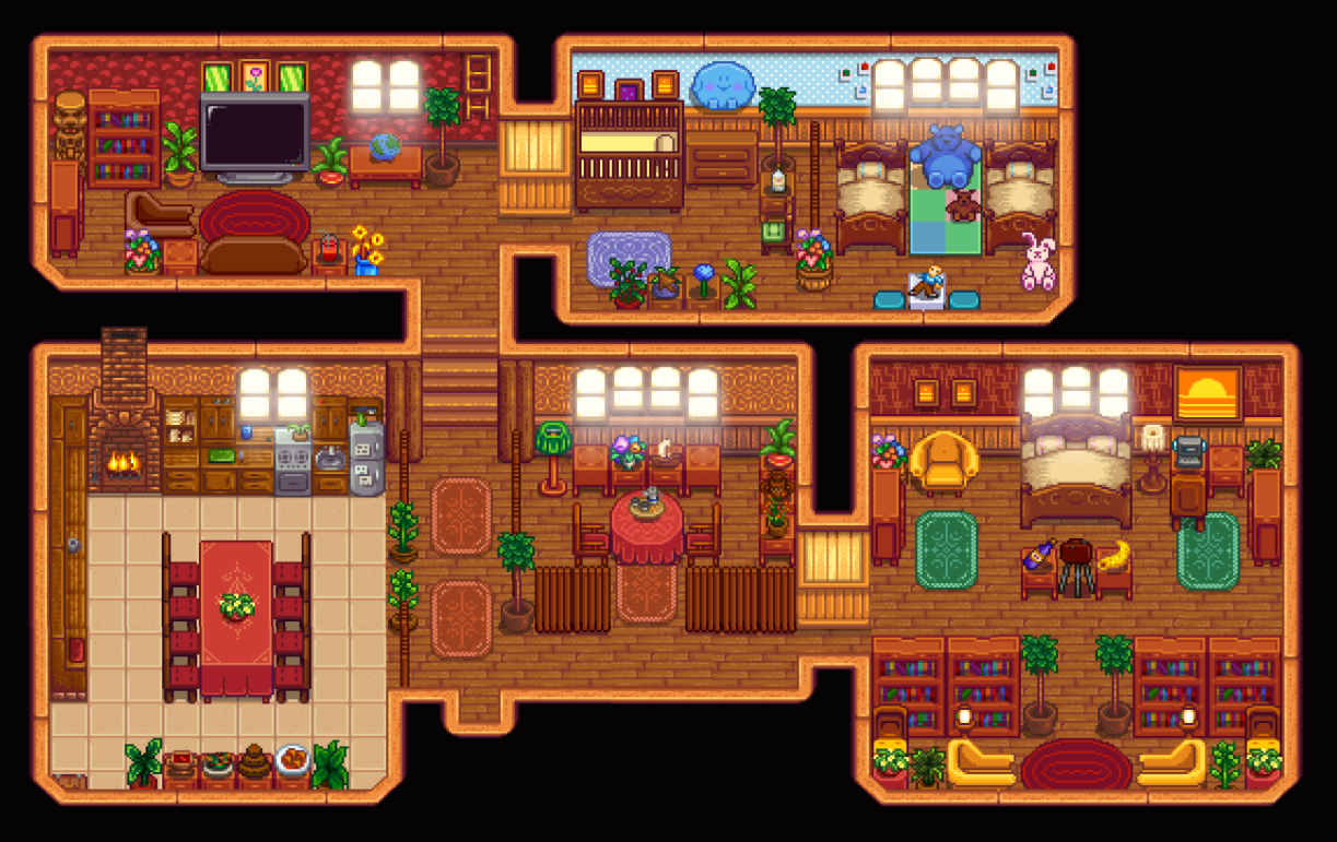 House Decoration Stardew House Design Stardew Valley Layout