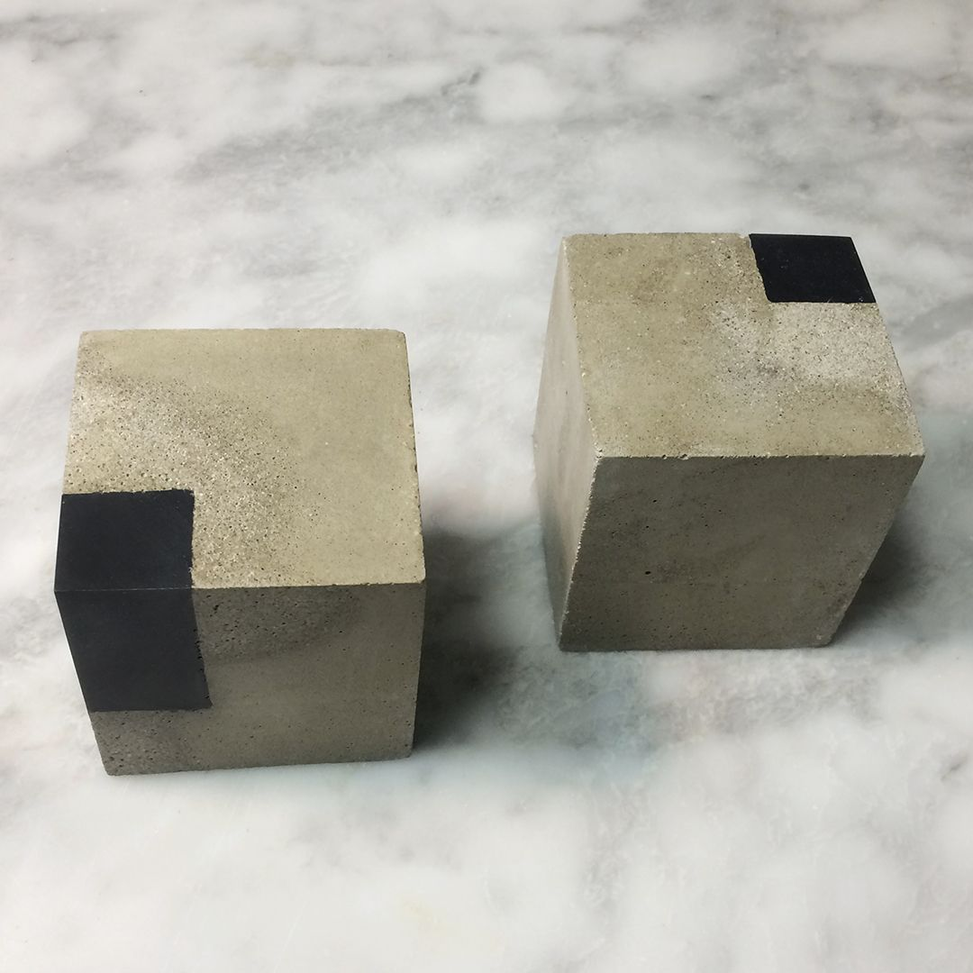 Cube Bookends Bookends Wood Bookends Modern