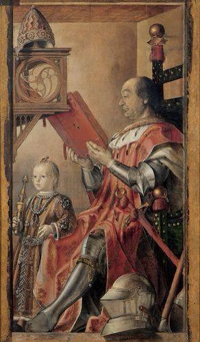Ritratto Di Federico Da Montefeltro Col Figlio Guidobaldo Autore
