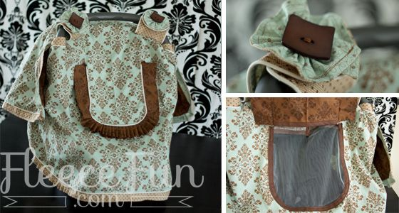 Free Baby Car Seat Canopy Pattern with Window : car seat canopy pattern free - memphite.com