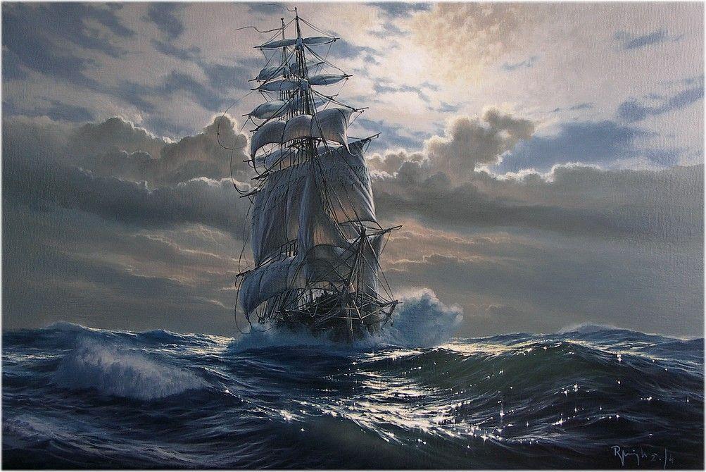 Marek Rużyk Ship Tall Mast Sailing, Sailing ships