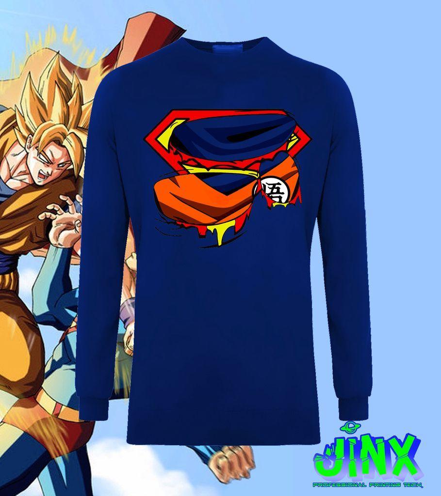189.00 Playera o Camiseta Goku Vs Superman - Comprar en Jinx ... bf829d9a6ec2c