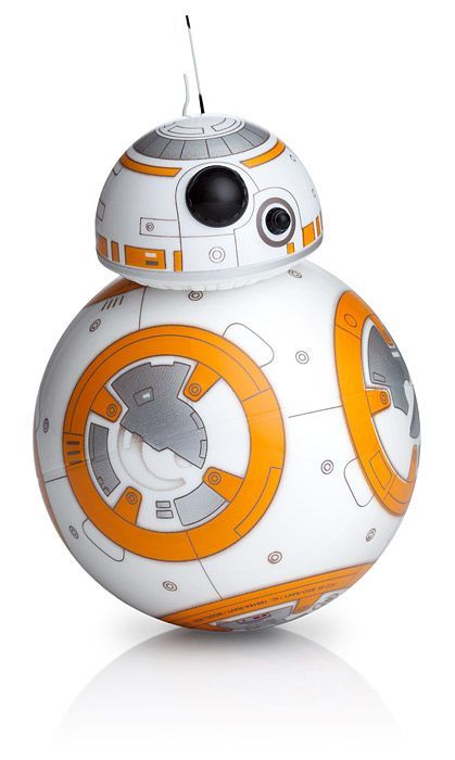 Star Wars Sphero BB-8 Your own, personal BB-8 from Star Wars: The Force Awakens Control it with your smartphone or tablet, Compatible with iOS and Android devices #bb-8 #spherobb8 #bb8 #starwars #friki