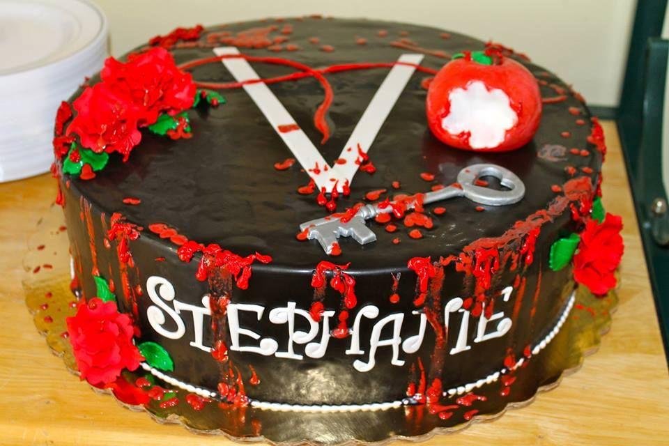 Vampire Diaries Birthday Cake Vampire Diaries Tvd Cake Design