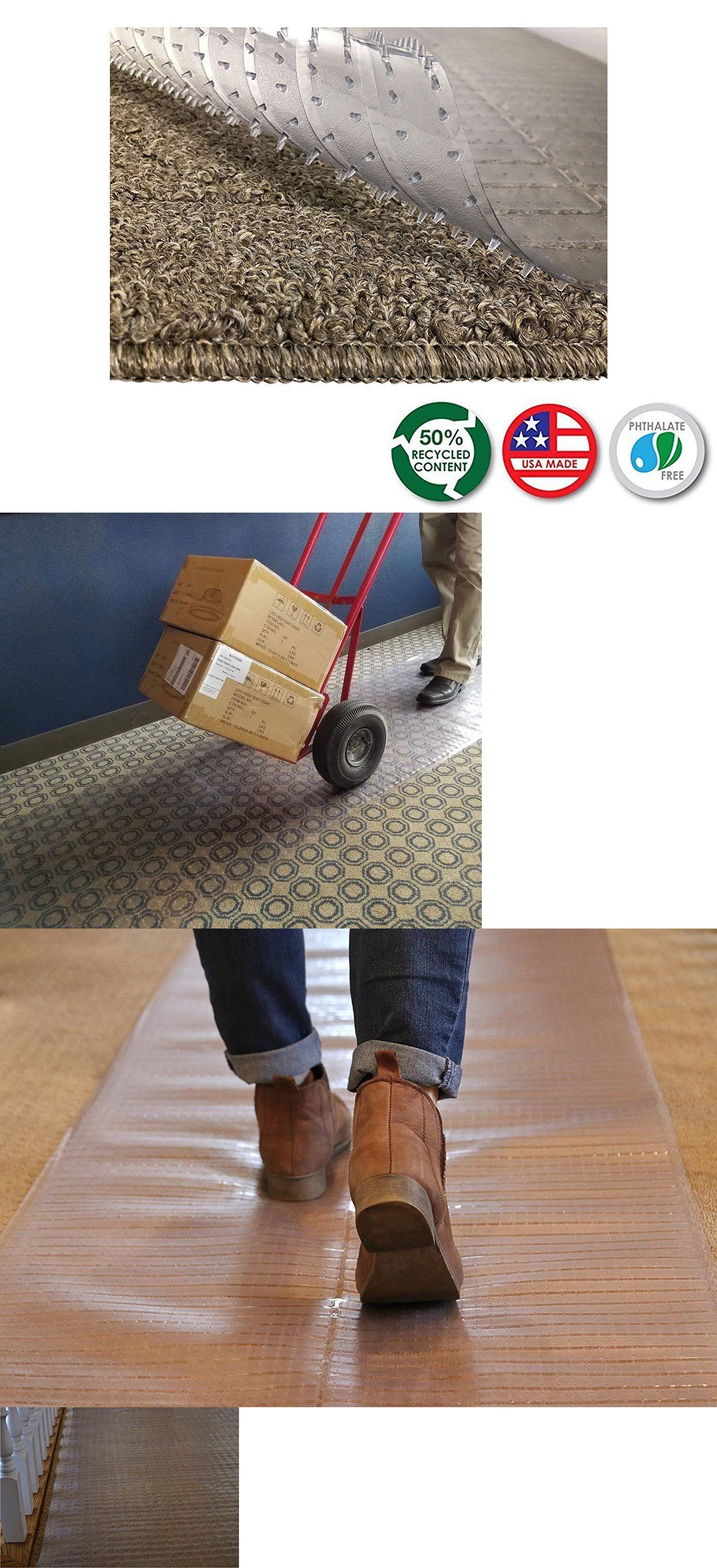 Runners 20574 Vinyl Plastic Floor Runner Carpet Office