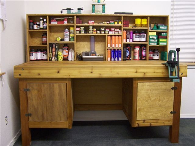 Good Reloading Bench Ideas Part - 10: Letu0027s See Your Reloading Bench - Www.ifish.net