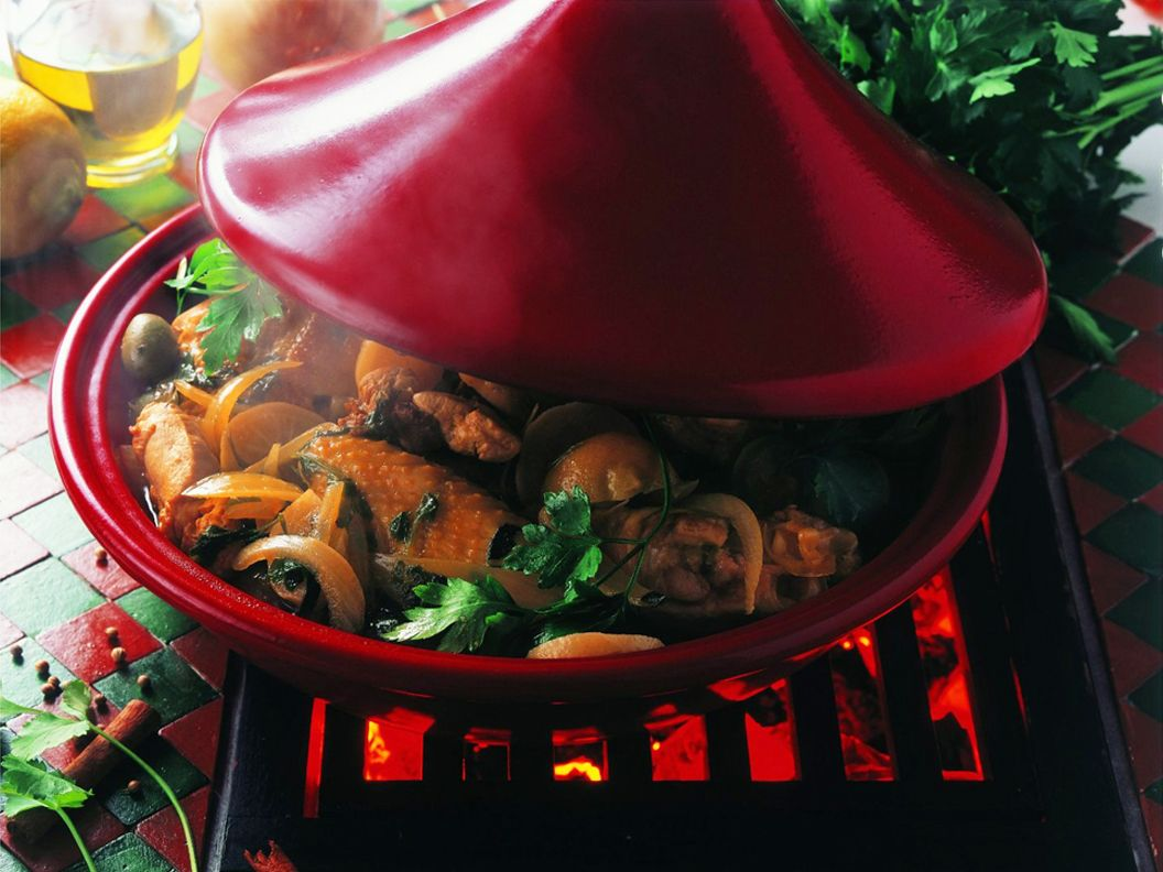 Emile Henry Tagines Are Designed For Slow Simmering Of Various Tagine Recipes Often Include Raisins Apricots With Fresh Or Preserved