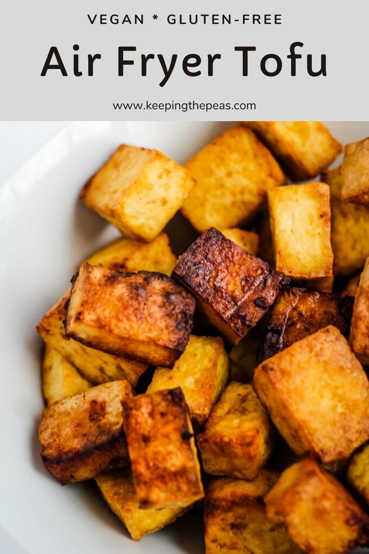 Air Fryer Tofu in 2020 Recipes, Air fryer recipes, Air