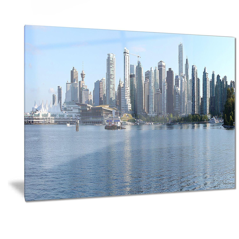 Designart vancouver bc skyline panorama cityscape photo