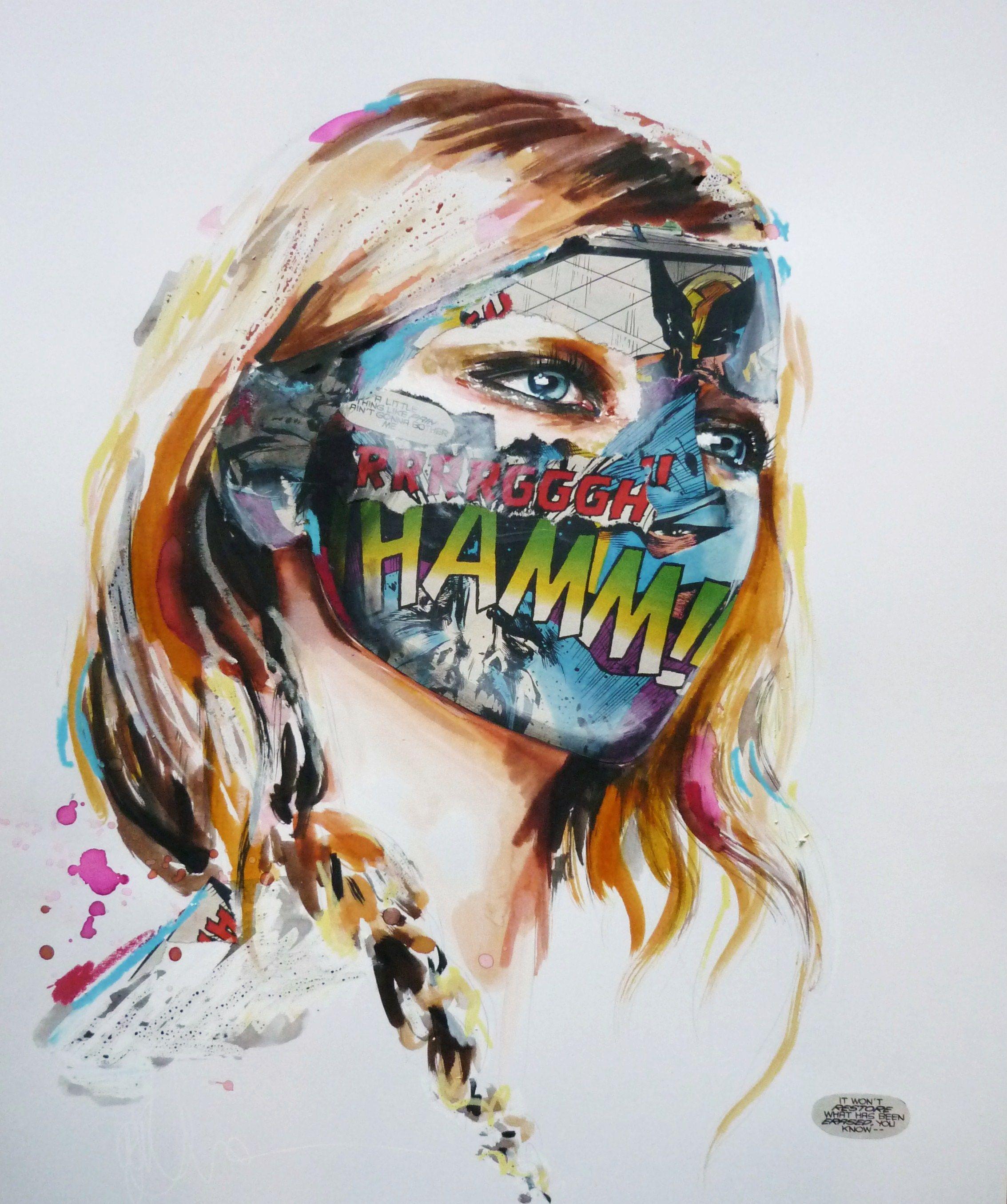 Sandra Chevrier - Super Hero Canvas