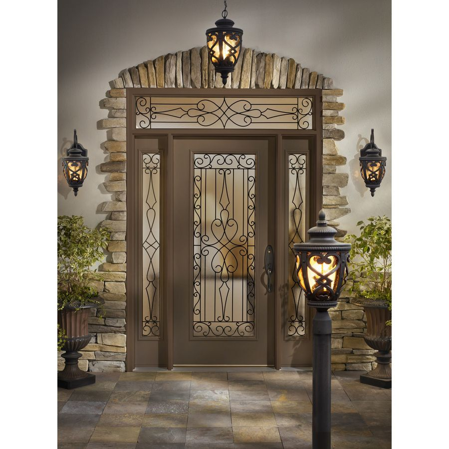 Shop allen roth grandura 2263 in h marcado black outdoor wall shop allen roth grandura 2263 in h marcado black outdoor wall light at lowes arubaitofo Choice Image