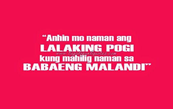 pin tagalog quotes paasa ajilbabcom portal on   ANO? MAY ...