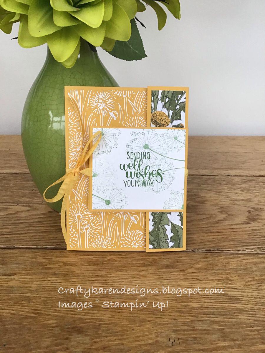 Dandy Garden Double Flap Fold Card