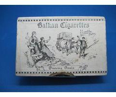 Balkan Cigarettes Queens Oval 25 box (empty)