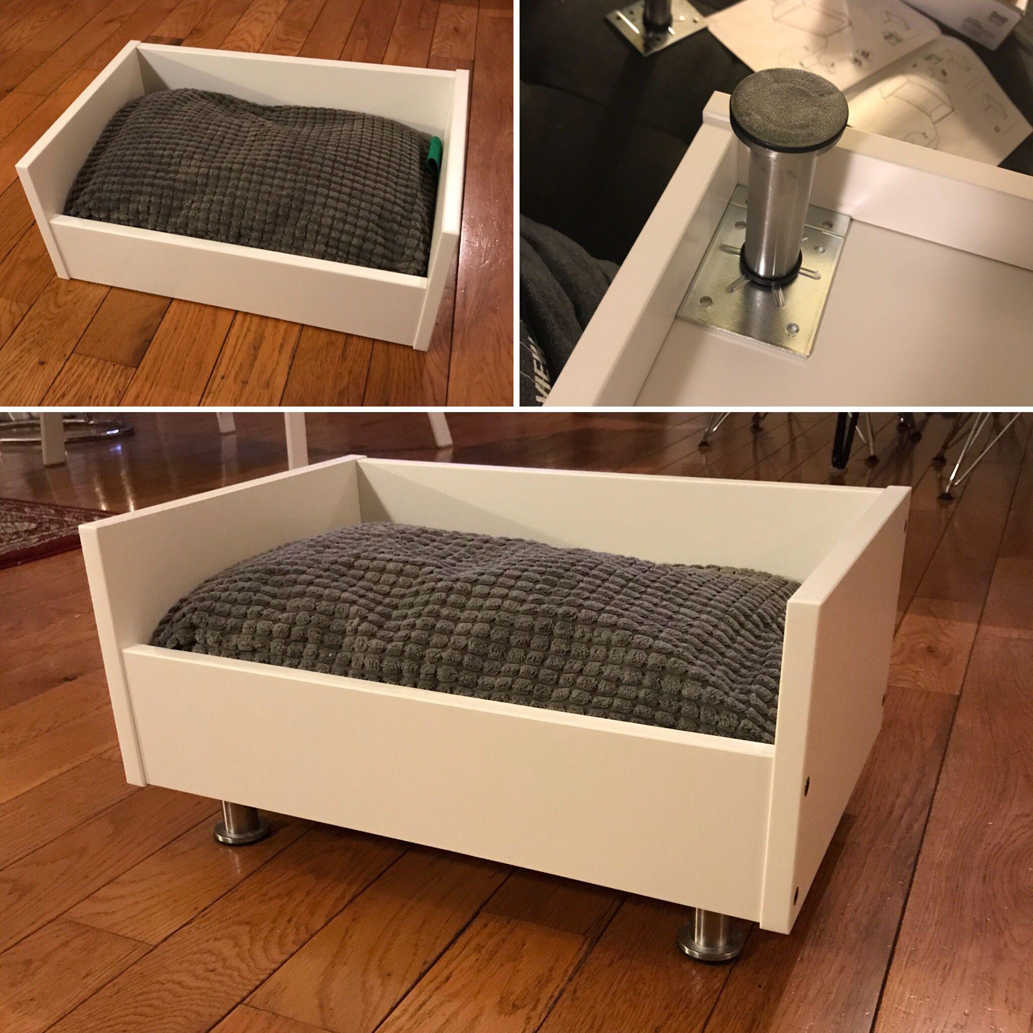IKEA dog bed hack Lurvig dog bed Capita legs